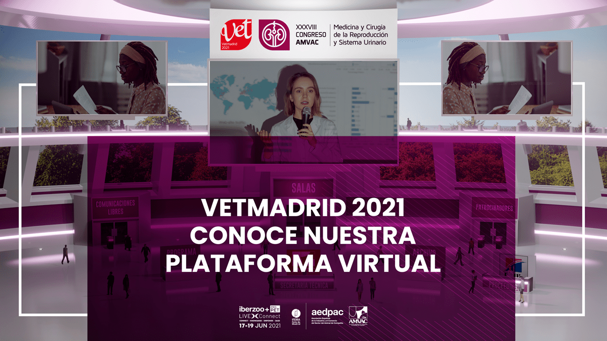 Vetmadrid 2021: la plataforma virtual