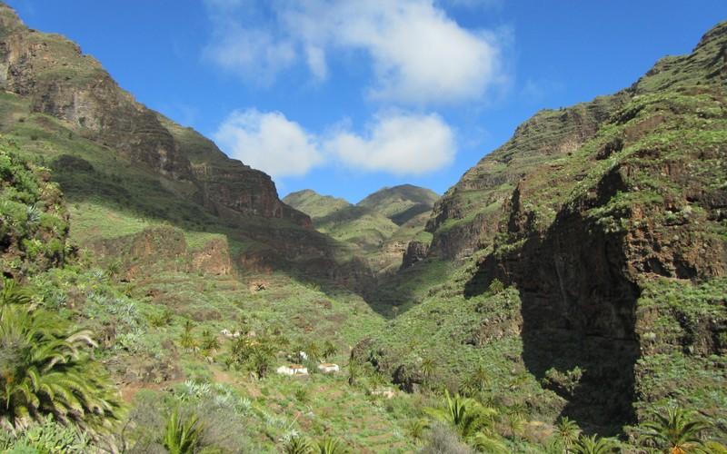 Utsikt La Gomera