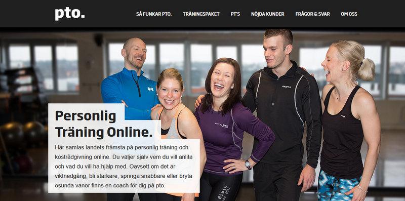 pto: Personlig träning online