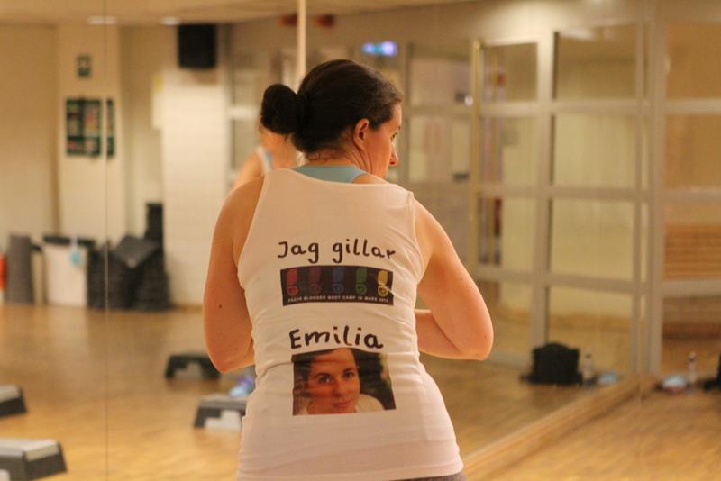 En Emilia på Dansstep
