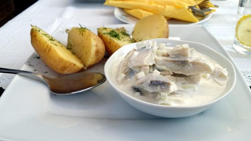 Potatis och sill Weranda