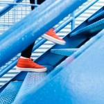 inlägg om vardagsmotion. Sko på trappa
