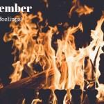 Känna samhörighet. Inlägg om känslor. Bild på eldstad