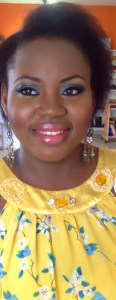 Glamorous makeup, double lashes, makeup by Bronzegoddess nigeria