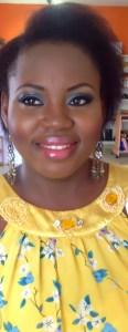 Glamorous makeup, double lashes, makeup by Bronzegoddess nigeria