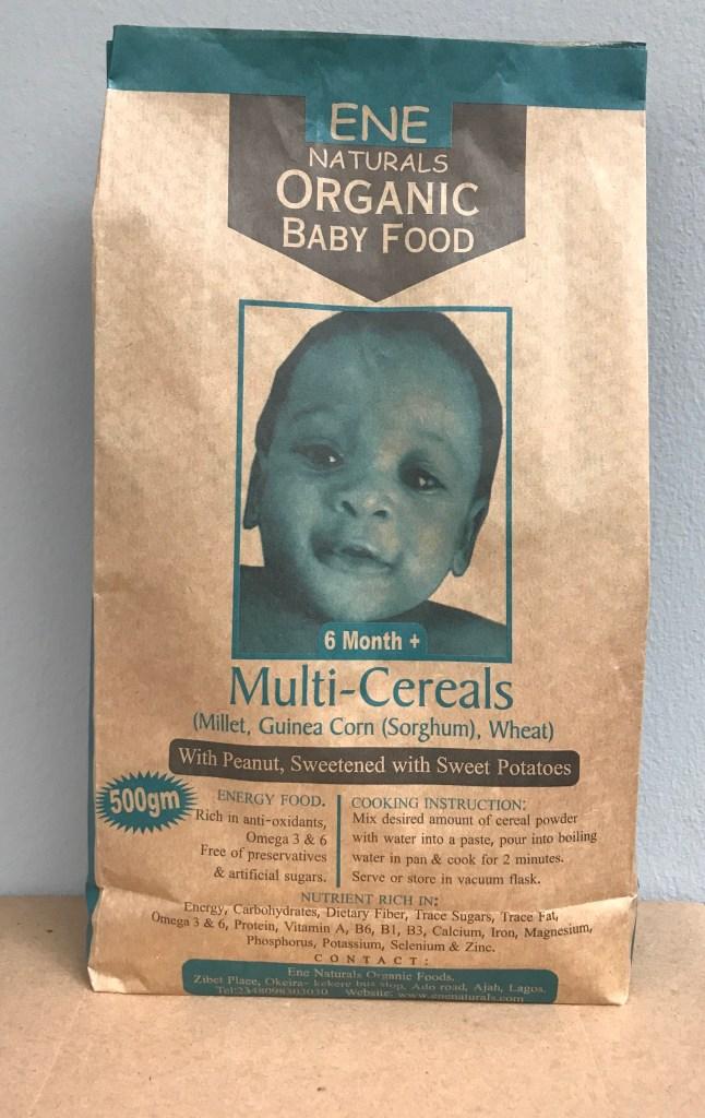 organic baby food, organic multi cereals baby food, organic baby food nigeria,