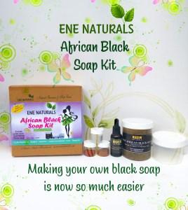 african black soap making kit