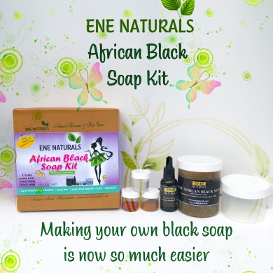 african black soap making kit