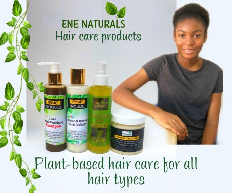 Ene naturals hair care products