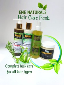 ene naturals hair care pack