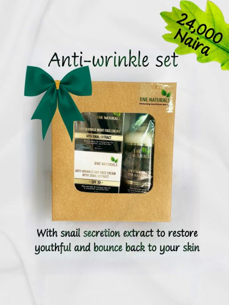 Anti-wrinkle face products set
