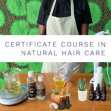 Ene Naturals hair care training academy