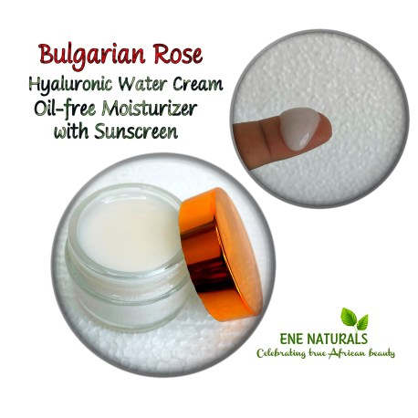 Hyaluronic water cream
