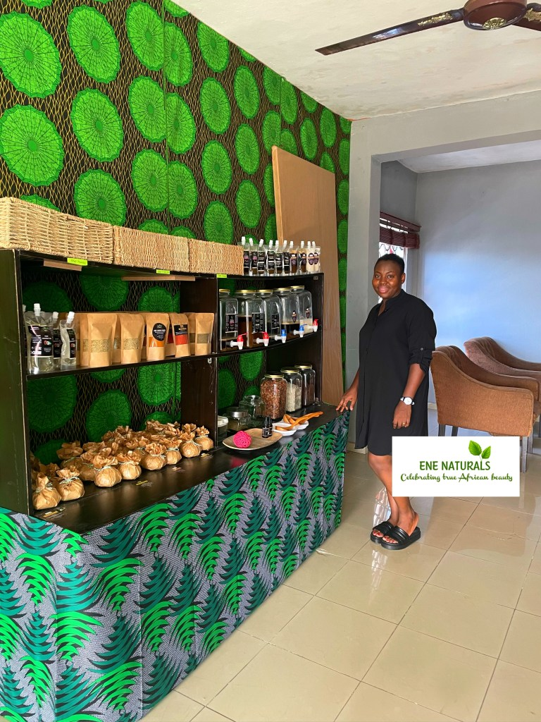 ENE NATURALS PRODUCT REFILL STATION