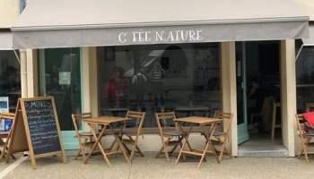 conférence naturopathie au restaurant C'fée nature (devanture) à Forcalquier