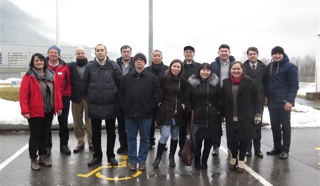 Forscher-Delegation aus Kasachstan