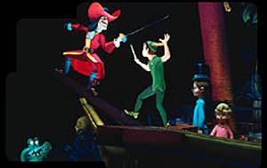 Disney Peter Pan Flight