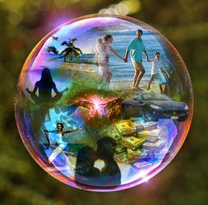 bubble reality, a future without fear