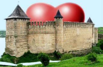 fortress around heart, anger barrier