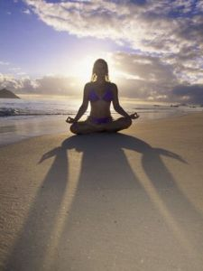 meditation and sunshine help to correct acid/alkaline imbalance