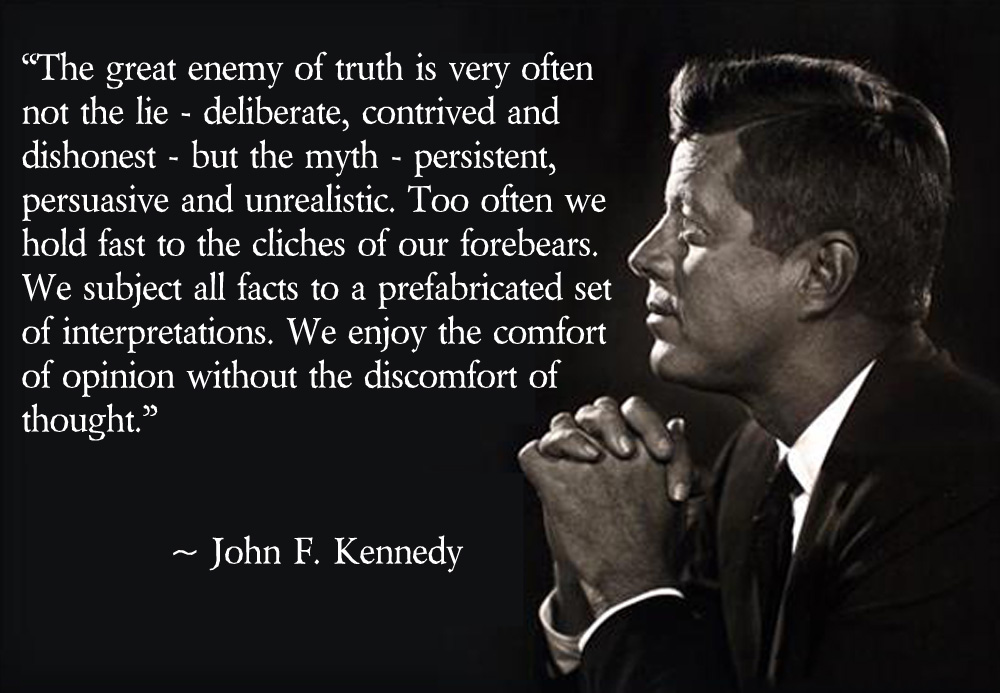 john f kennedy the essence of a true leader A true leader has the confidence to stand alone, the courage to make tough decisions, and the compassion to listen to the needs of others  is the essence of leadership —john kenneth.