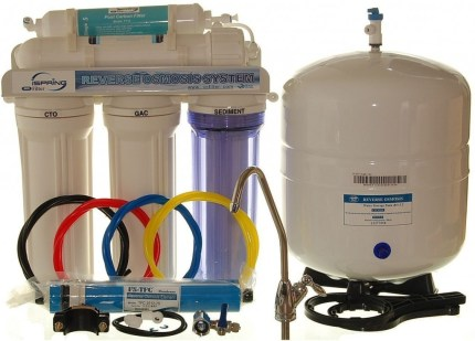 reverse osmosis water filter system to filter fluoride