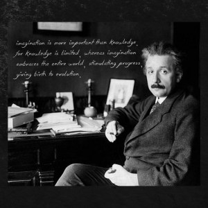 einstein quote imagination is more important than knowledge