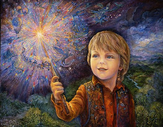 Josephine Wall Young Wizard