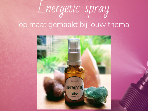 Foto Energetic spray op maat | energetic flow