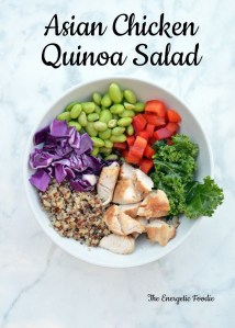 Asian Chicken Quinoa Salad