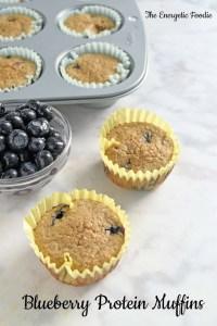 GF Blueberry Protein Muffins
