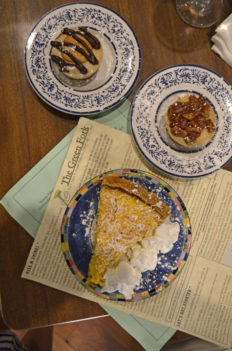 Vegan Cheese Cake and Coconut Cream Pie at The Green Fork