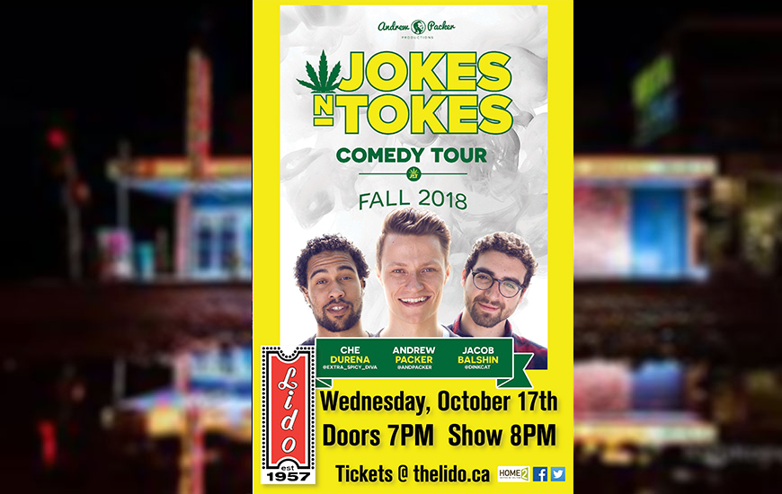 Jokes N Tokes Comedy Tour