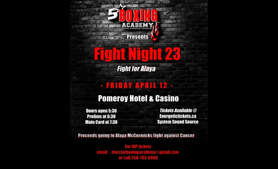 Fivestar Boxing Academy presents Fight Night 23