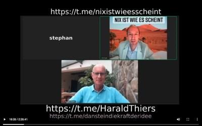 """Harald Thiers im Gespräch mit Michael von """"Nix ist wie es scheint"""""""