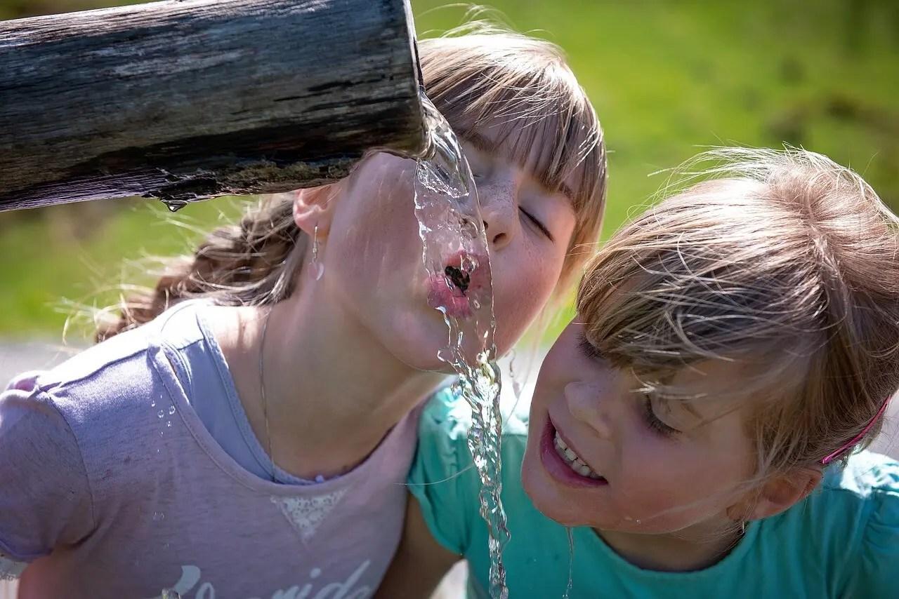Trinkwasser für die Familie