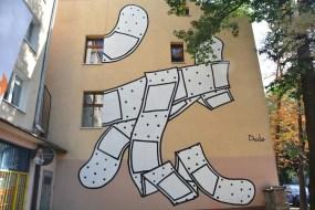 """Dede, """"Searching safety I"""", Lodz, Poland, Organizacji WiN 10, photo by Paweł Trzeźwiński"""