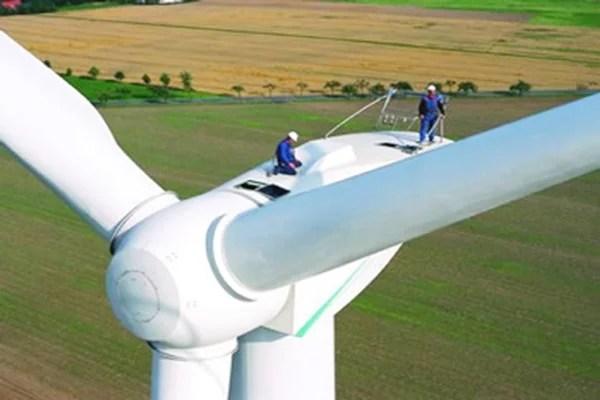 Empleo en energía eólica
