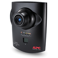 Monitor para sala NetBotz 355 (PoE de 120/240 V) cámara y sensores integrados, modelo NBWL0356A, registre el movimiento para poder combinar el registro