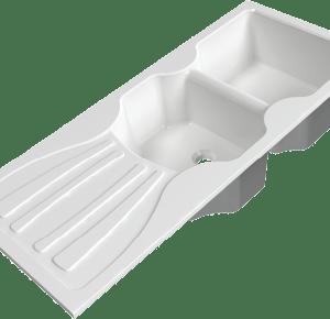 Evier de cuisine E09 11650-2
