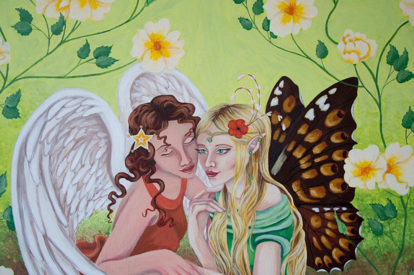 Elfe und Engel