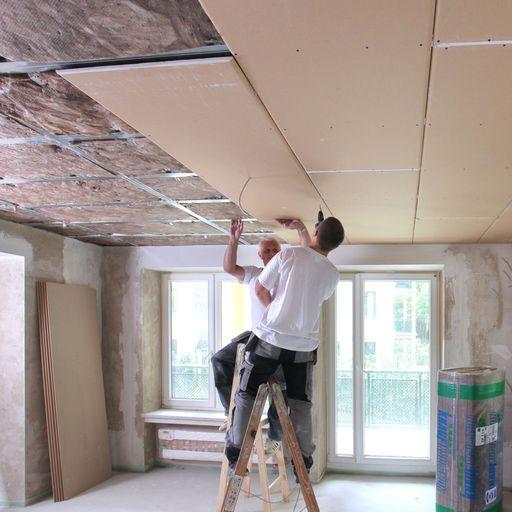Abgehängte Decke verbessert Schallschutz im Altbau - ENERGIE-FACHBERATER