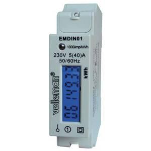 Velleman EMDIN01 Energiekostenmeter