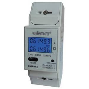 Velleman EMDIN02 Energiekostenmeter