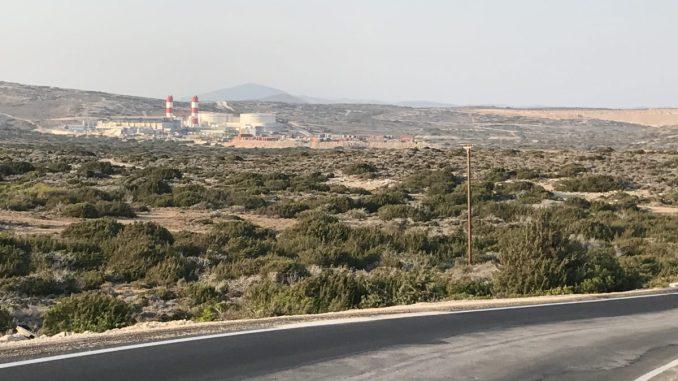 Dieselenergie auf Rhodos trotz viel Sonne
