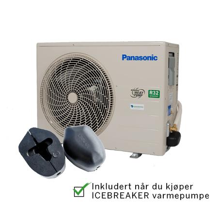 Panasonic Icebreaker tilbehør sparelua