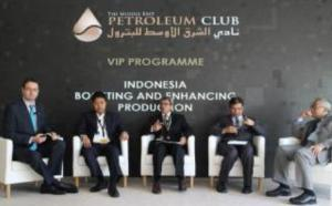 Country Briefing wakil Indonesia di ajang ADIPEC 2014, Abu Dhabi (Sumber: esdm.go.id)