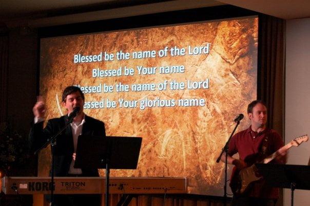 ICON Worship Service, First UMC Pensacola, Jeb Hunt and Scott McBride