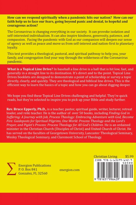 Faith in a Time of Pandemic (back cover)