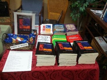 APC Convention 2013 book table 1